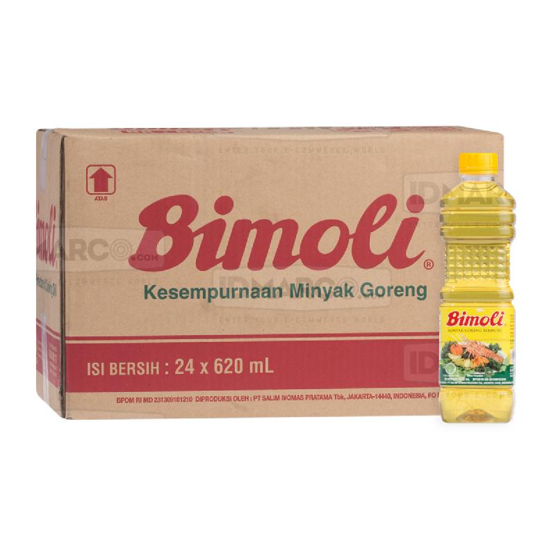 Bimoli Minyak Goreng 620 ml Botol