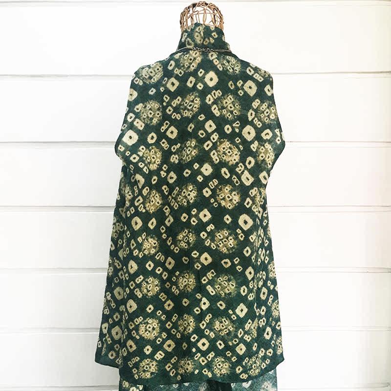 Batik Chic Outer Kutung Jumoutan Hijau
