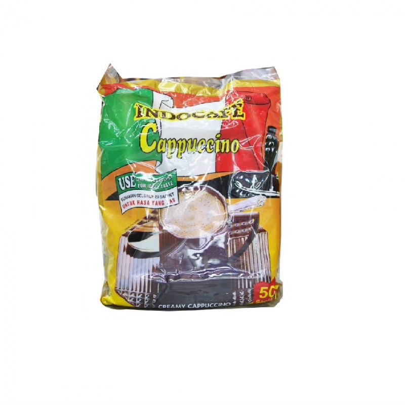 Indocafe Cappuccino 50 X 25 Gr