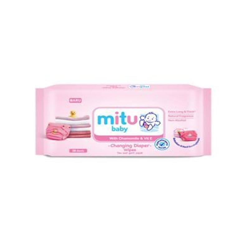 Mitu Tisu Ganti Popok Pink 50S