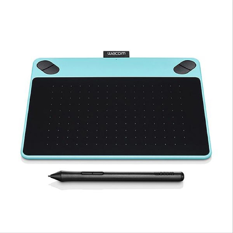 Intuos Draw, Pen Small, Mint Blue