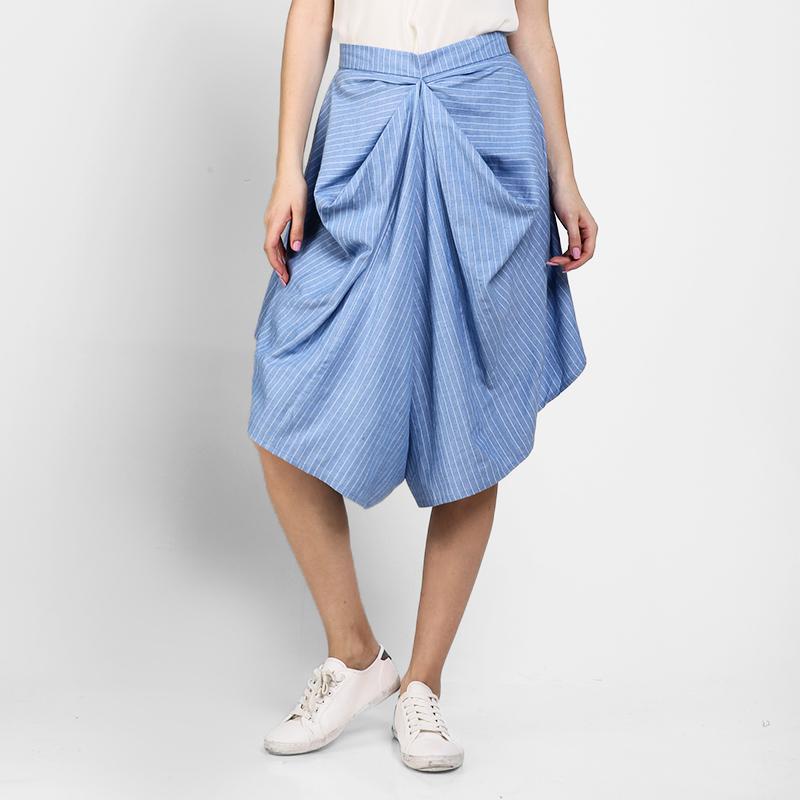Basa Zaya Pants Blue Stripe