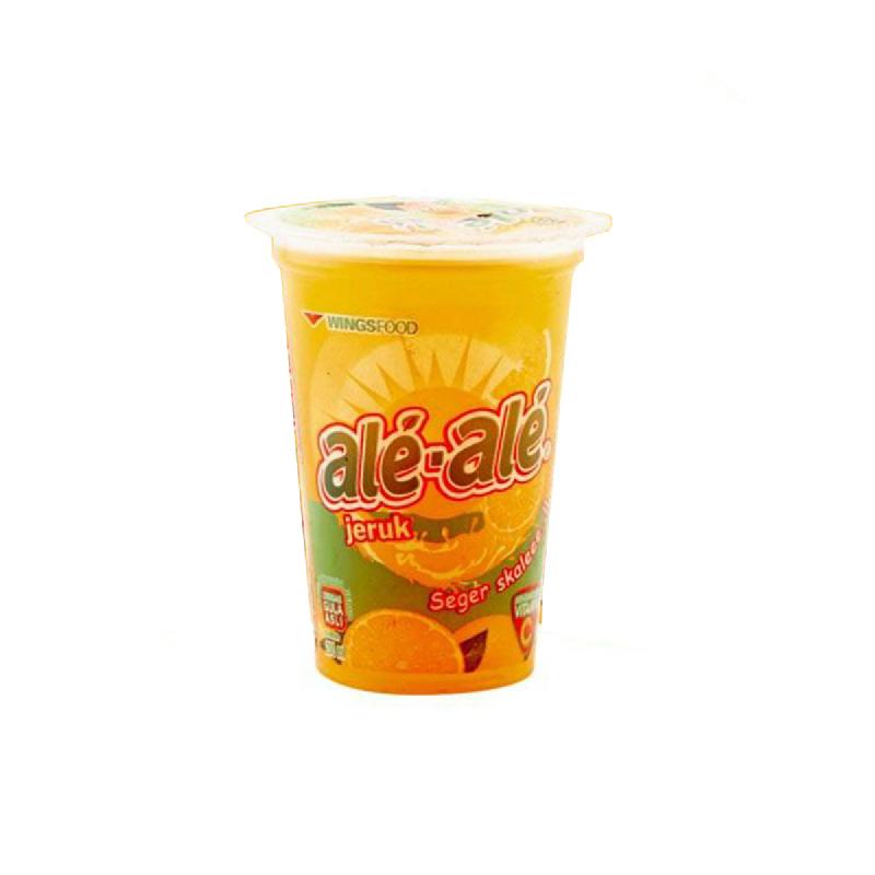 Ale-Ale Cup Rasa Jeruk 200ml