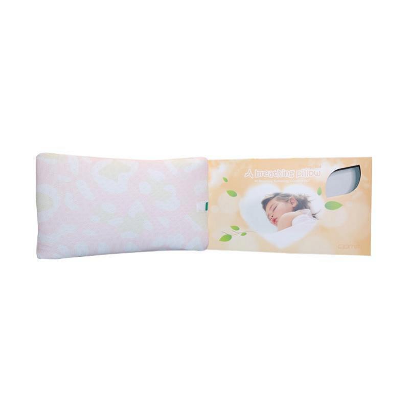 Comfi Bantal Bayi Breathing Pillow Kids Pink
