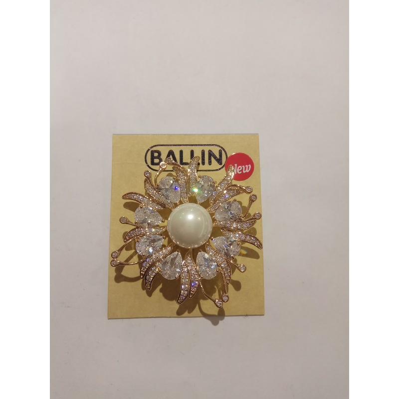 Ballin Women Brooch LF-BRXR01543F8G Gold