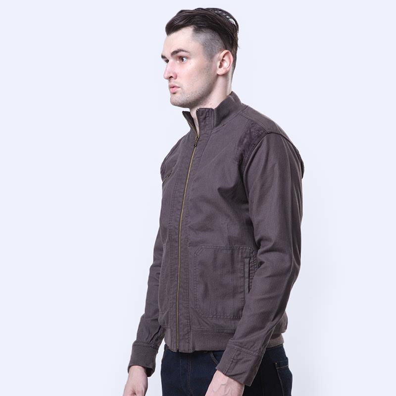 Emba Classic Verquesh Men Jacket Grey