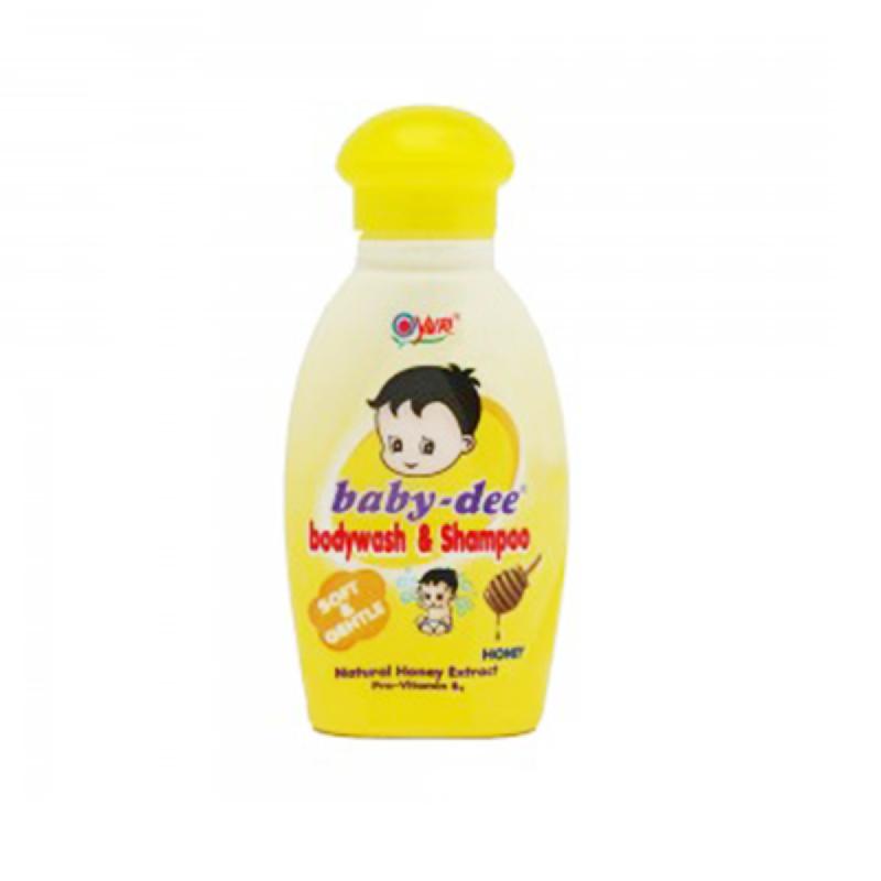 Baby-Dee Body Wash & Shampoo Honey 100 Ml