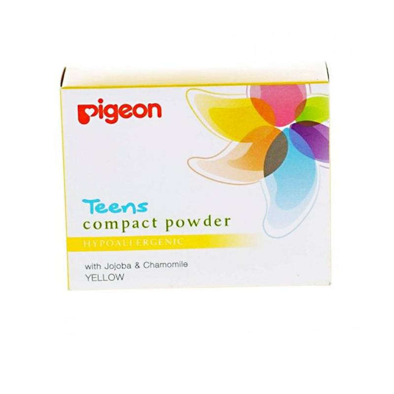 Pigeon Compact Powder Hypoallergenic Yellow 14Gr