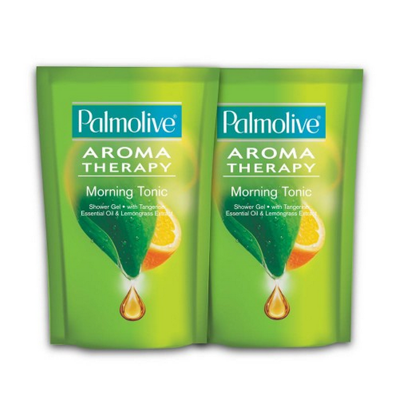 Twin Pack Palmolive Aroma Therapy Morning Tonic 450 ml