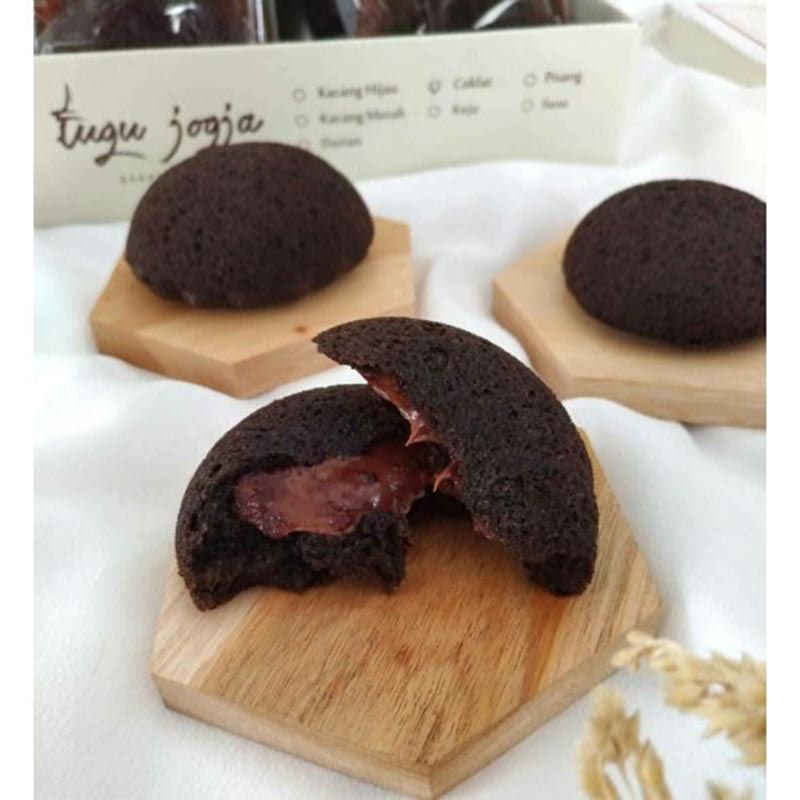 Bakpia Kukus Tugu Brownies Coklat (isi 10 Pcs)