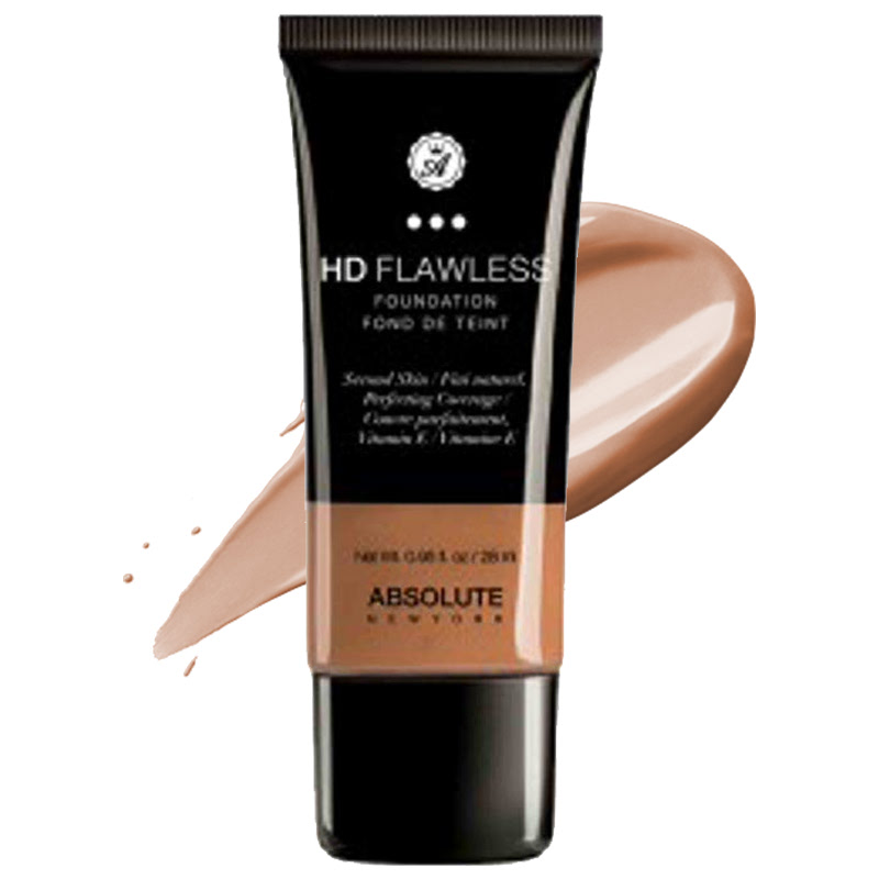 Absolute New York HD Flawless Foundation Almond