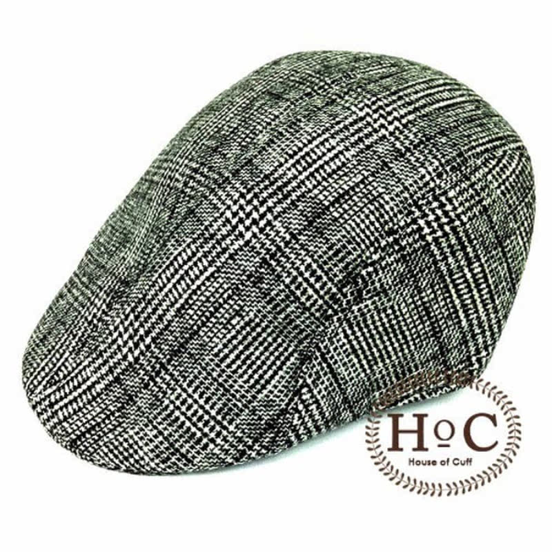 House Of Cuff Topi Fedora Hat Painter Grey List