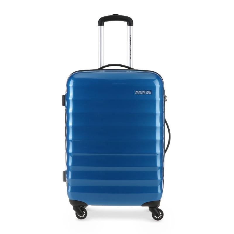 American Tourister Para-Lite Spinner 66-24 R91021002 Snorkel Blue