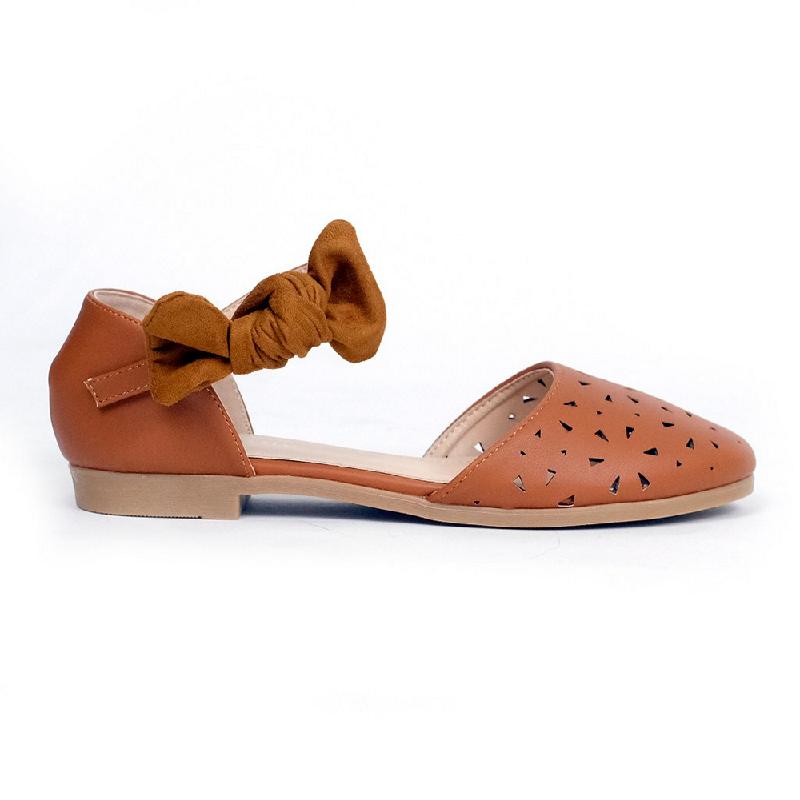 Austin Flat Shoes Kabibe Brown