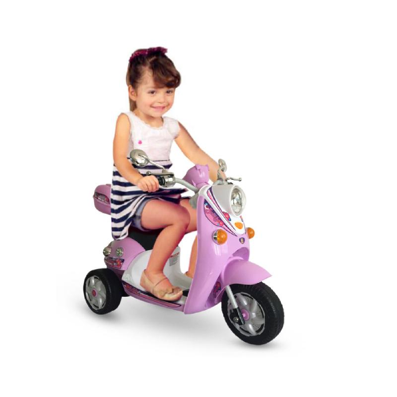Ocean Toy Motor Aki Scoopy Pink