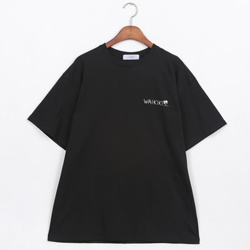 Waikiki Box Fit Short Sleeve T-shirt BL