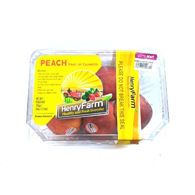 Henry Farm Yellow Peach Pack