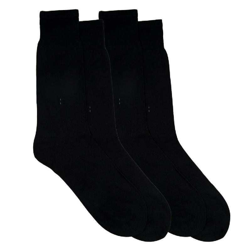 Gunze Men Casual Socks 1Box isi 2 Pasang SG032 Black