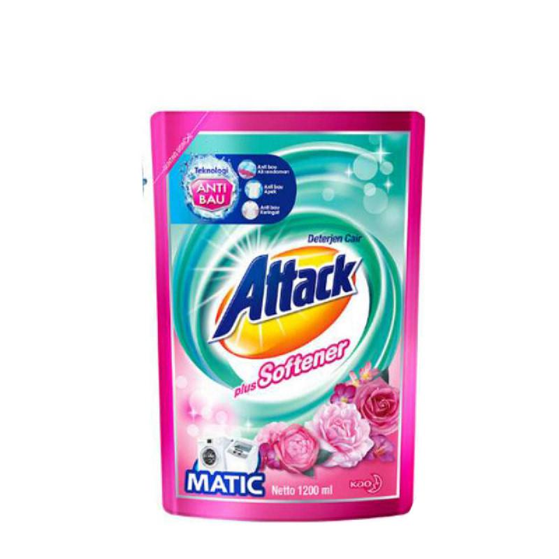 Attack Liquid Matic Plus Softener 1200Ml