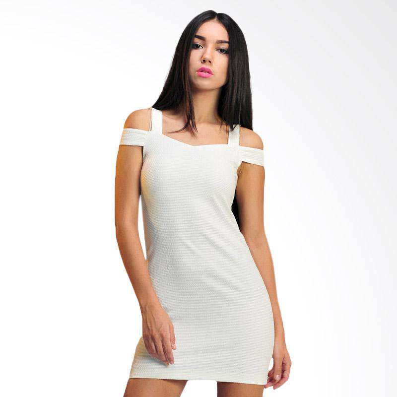 Trestar Womens Dress - White