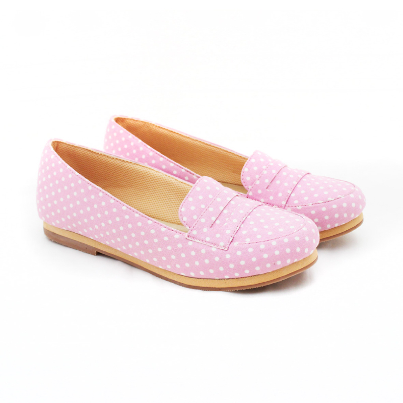 Alivelovearts Flat Shoes Bobba Pink