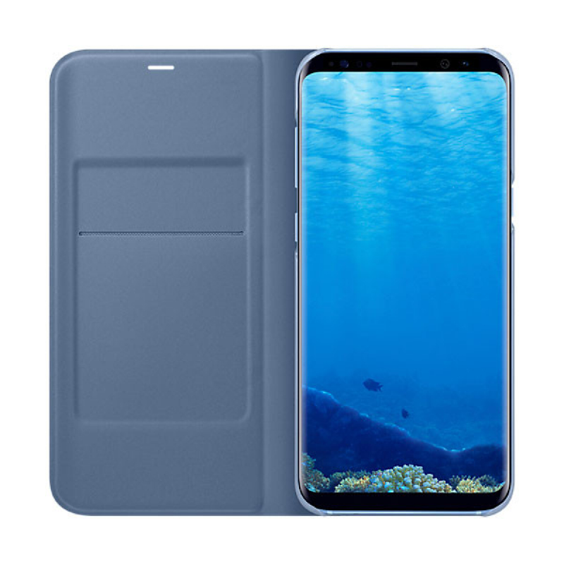 Samsung LED View Cover For Galaxy S8+ Biru