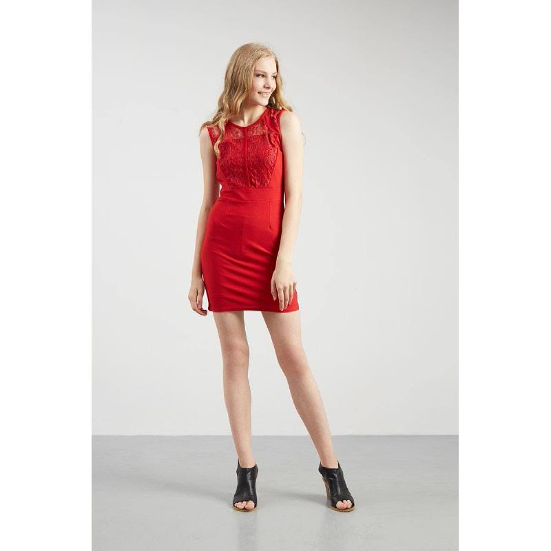 Francois Senden Dress in Red