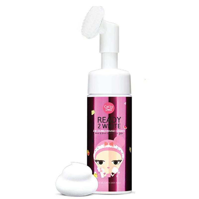 2 IN 1 BUBBLE MOUSSE CLEANSER 120ML