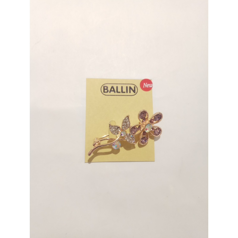 Ballin - Women Brooch LF BRXZ8070 23 Silver