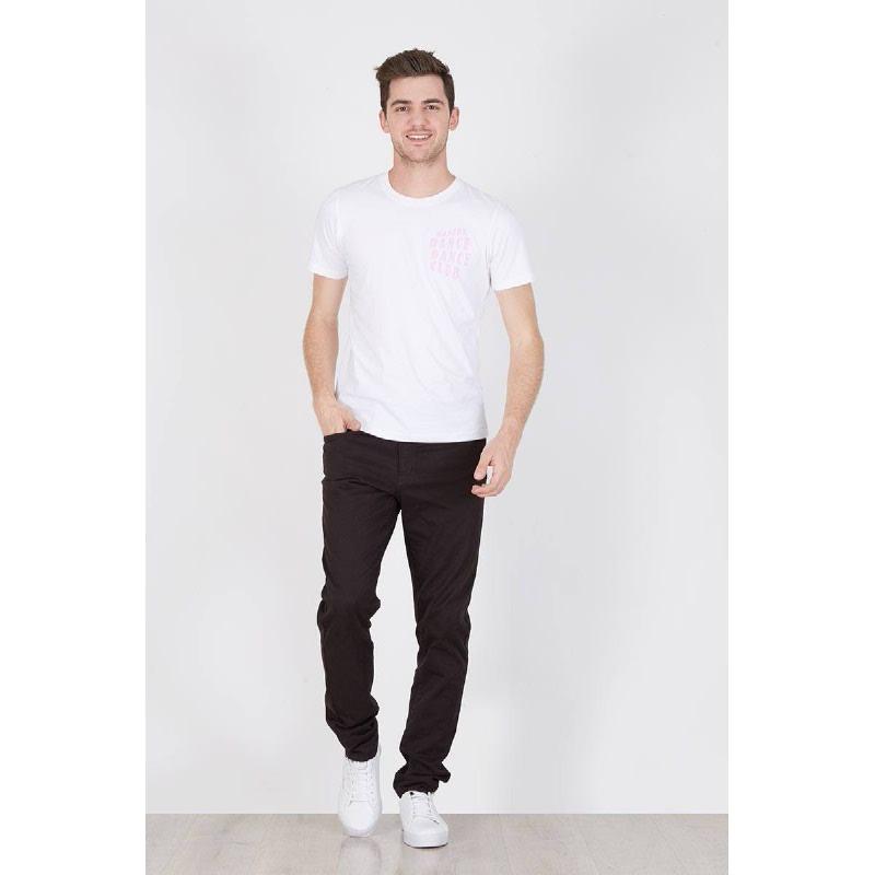 Men Modern Dance Tshirt White