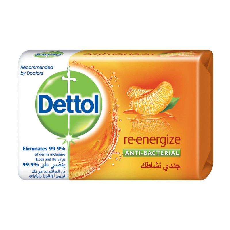 Dettol Bar Soap Re-Energize 110Gr