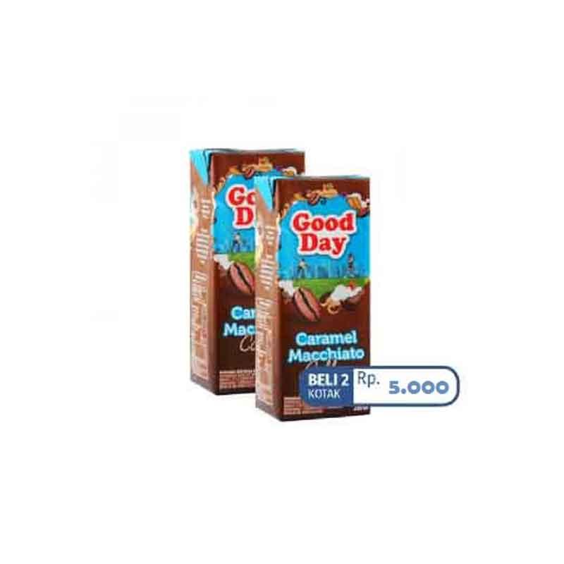 Good Day Caramel Macchiato Tetra 200ml (2 Pcs)