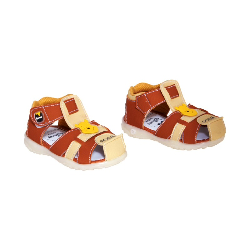 Baby Shoes Pooh Cicit Brown