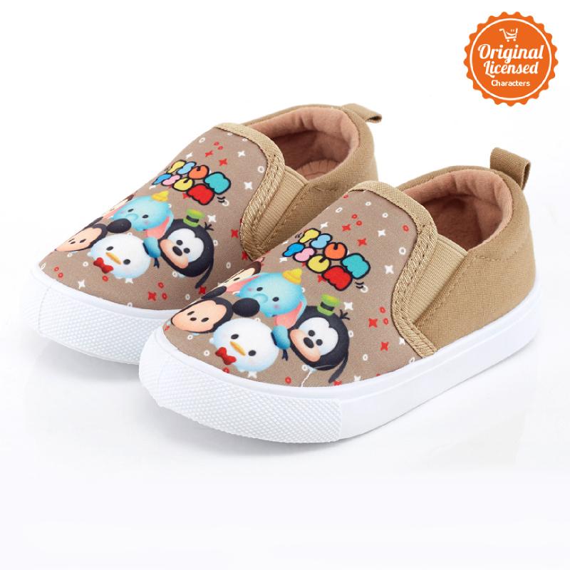 Disney Tsum Tsum Flat Shoes Girl Brown