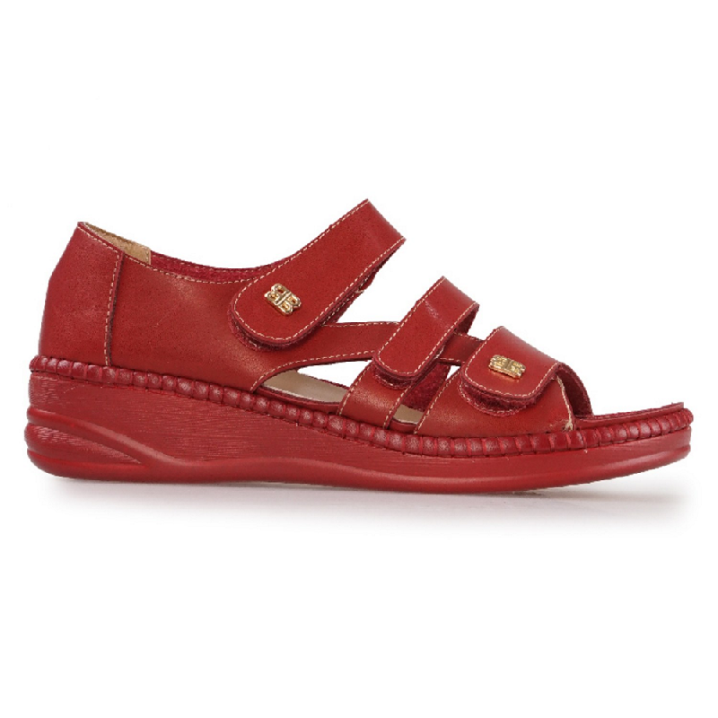 Austin Sandals Olive Red