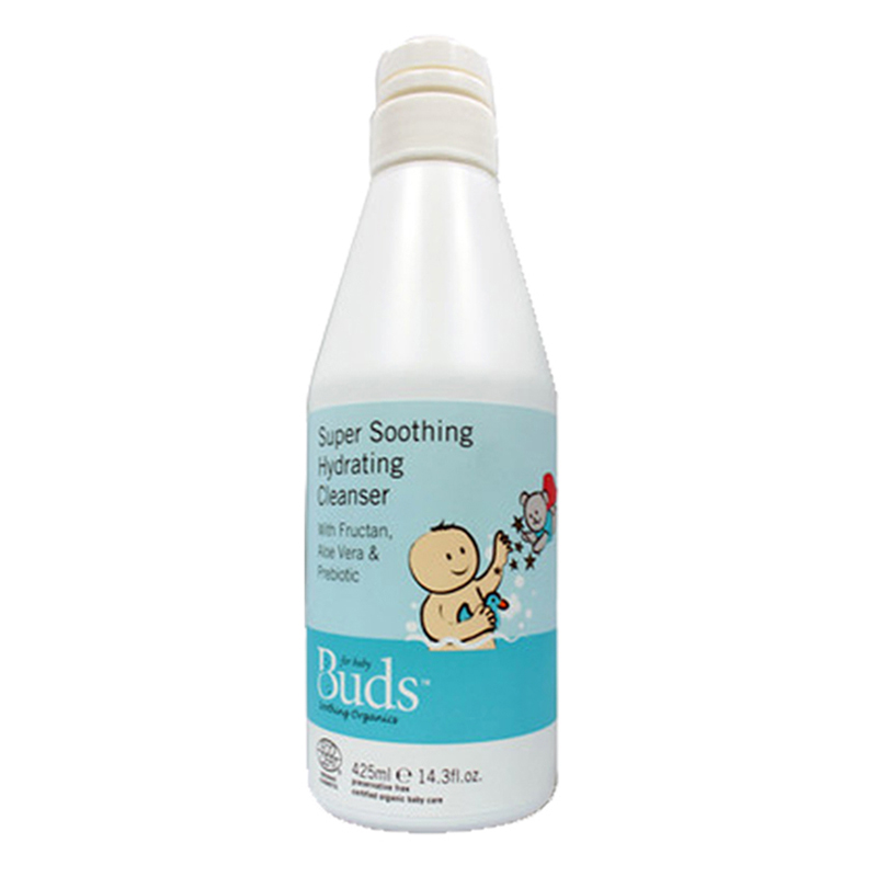 Buds Soothing Organics - Super Soothing Hydrating Cleanser 425ml