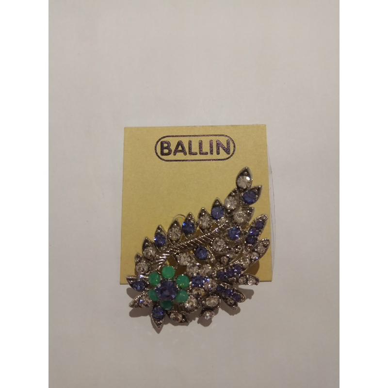 Ballin Women Brooch TM-BR42SU Silver