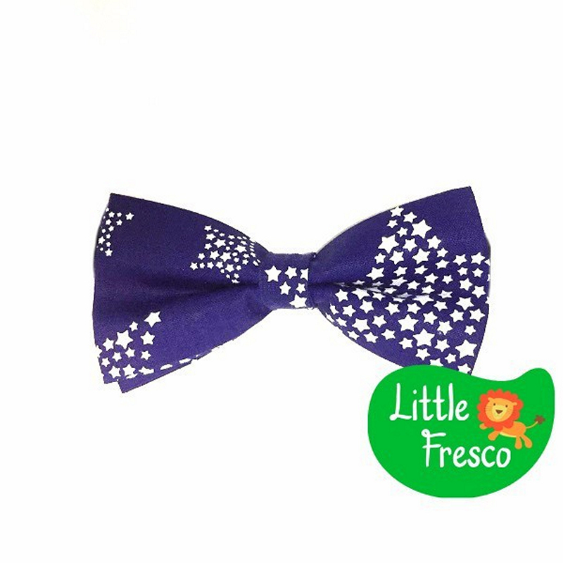 Little Fresco - Dasi Kupu Anak Kids Bow Tie Star Blue