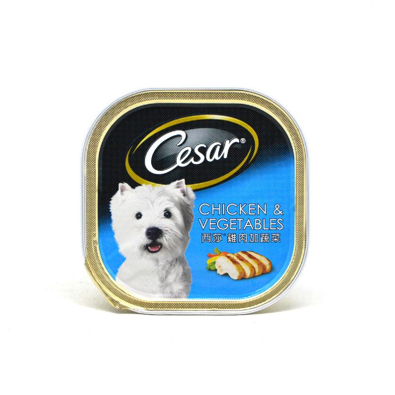 Cesar Makanan Anjing Ayam & Sayuran 100 Gr