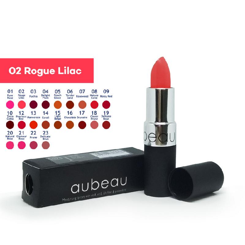 Aubeau Lipstick 02 – Rouge Lilac 4 Gr