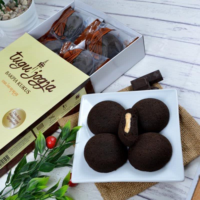 Bakpia Kukus Tugu Brownies Rasa Keju (isi 10 Pcs)