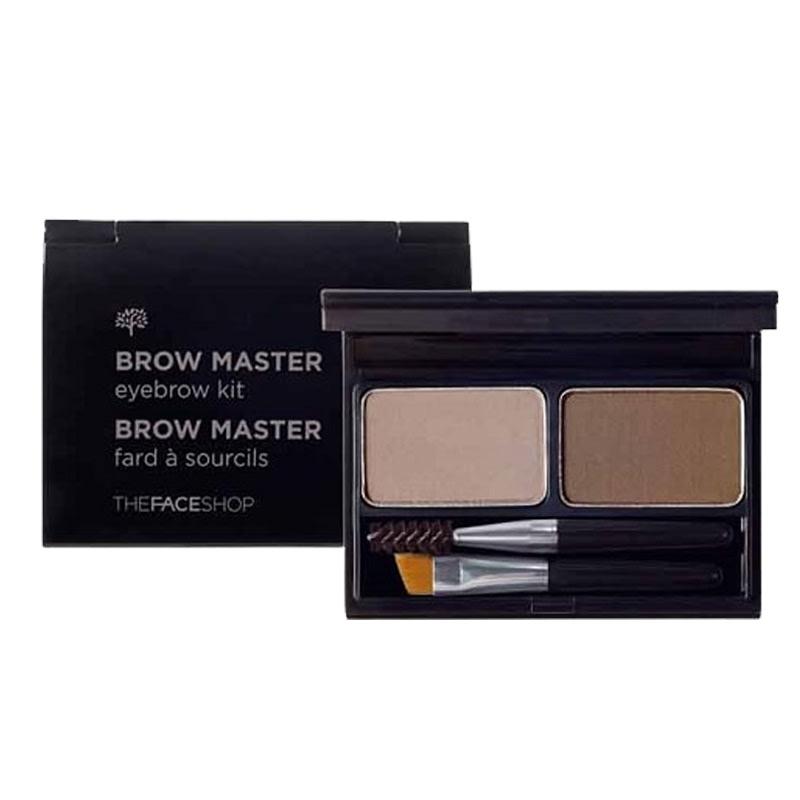 The Face Shop Brow Master Eyebrow Kit 02 Gray Brown