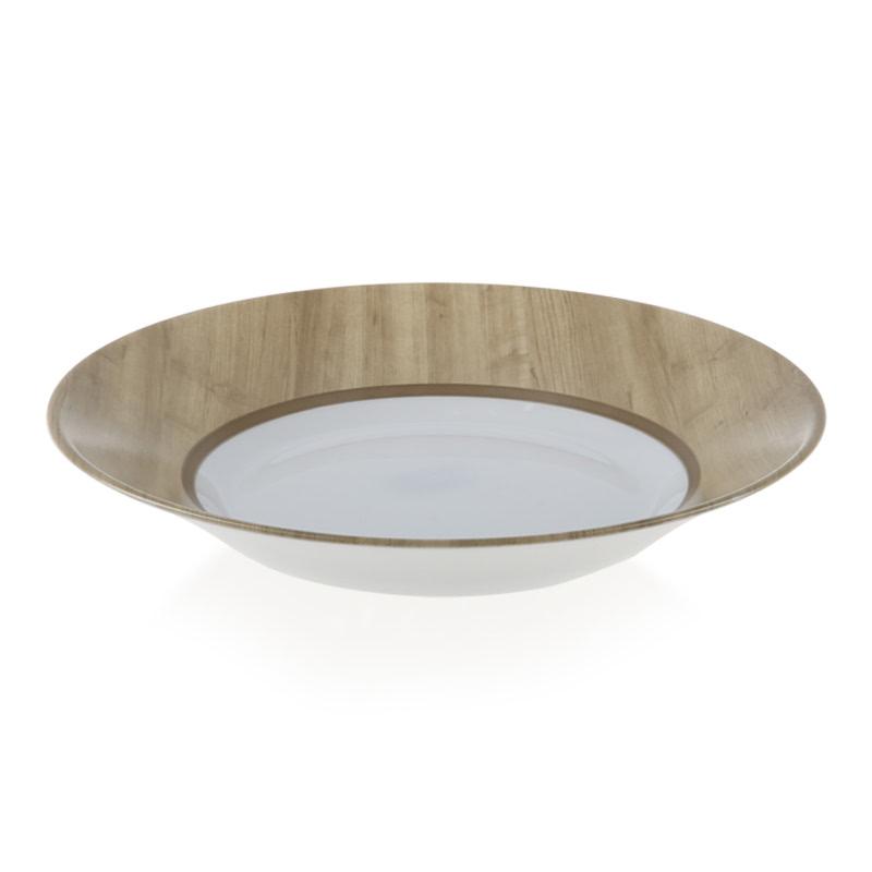 Luminarc Nordic Alpaga - Assiette Creuse 23