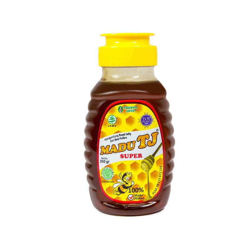 Madu Tj Super Botol 250 Gr