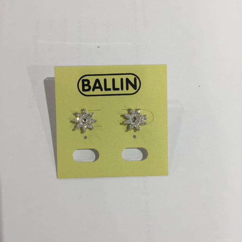 Ballin Women Earing Flower FF-E0062S Silver