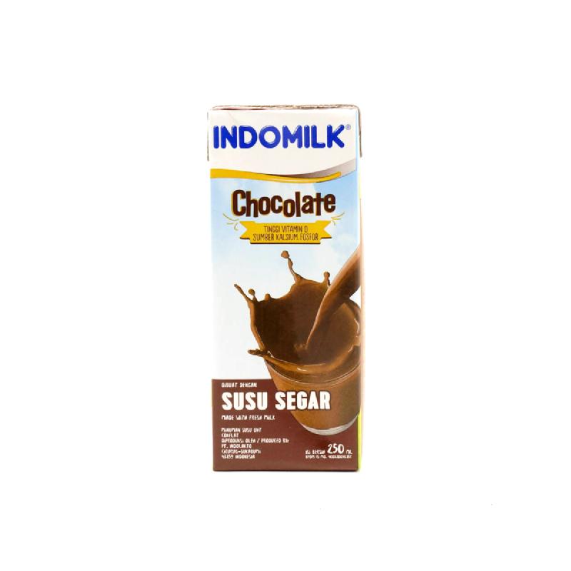 Indomilk Uht Reguler Chocolate 250ml