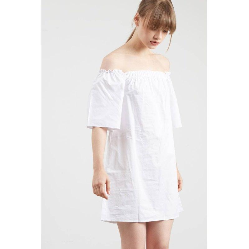 Gwen Karel Dress in White