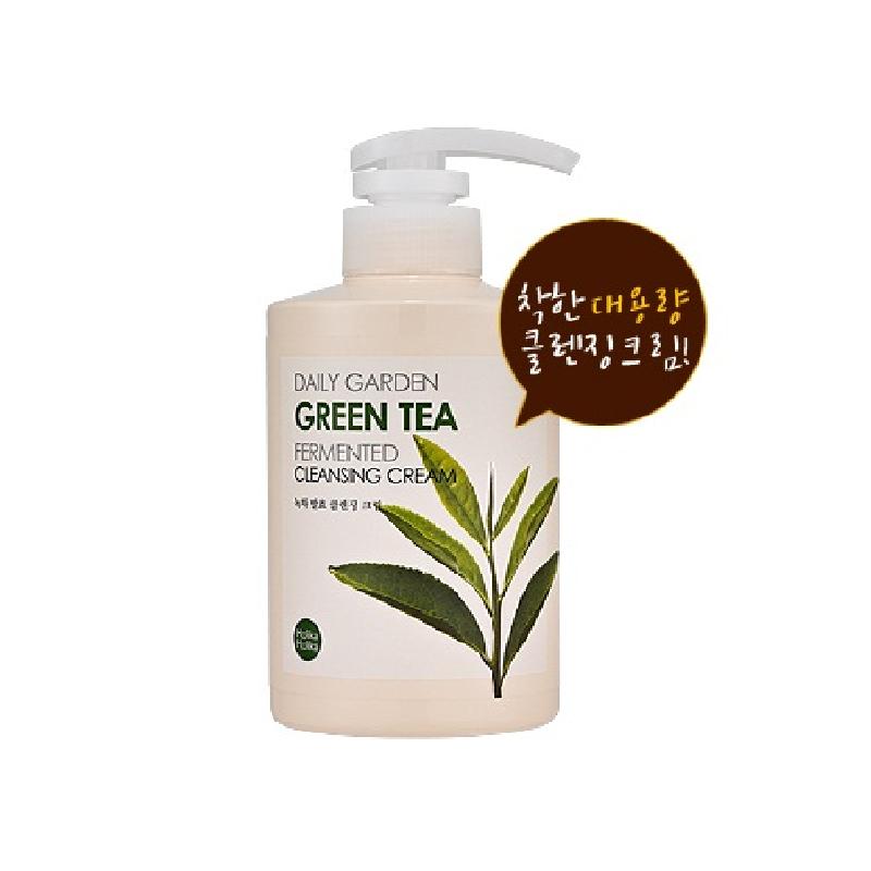 Dailygarden Greentea Fermented Cleansing Cream 430ml