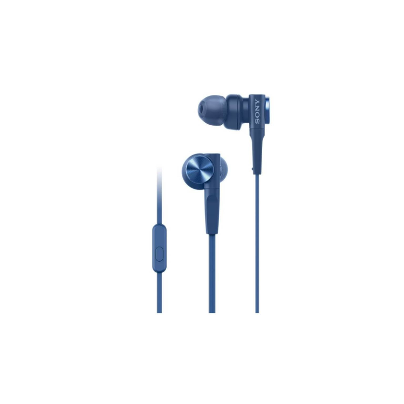 Sony in Ear Headphone MDR-XB55AP Blue