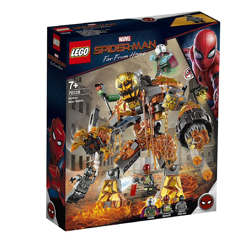 LEGO® Marvel Super Heroes Molten Man Battle 76128
